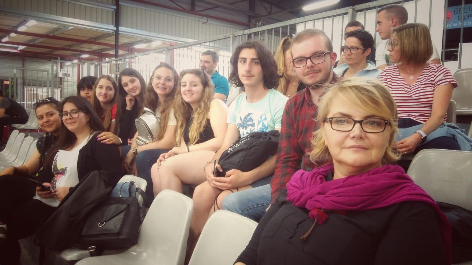 sport violence sécurité stade italien bordeaux odyssée visite étude