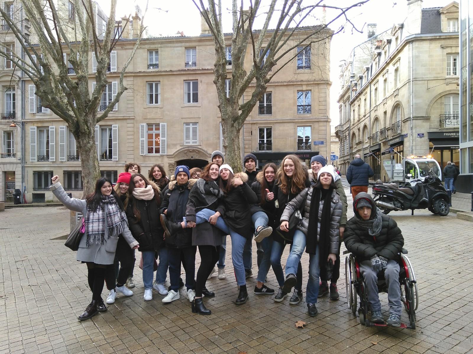séjour linguistique visite d'étude soggiorno linguisticio francese