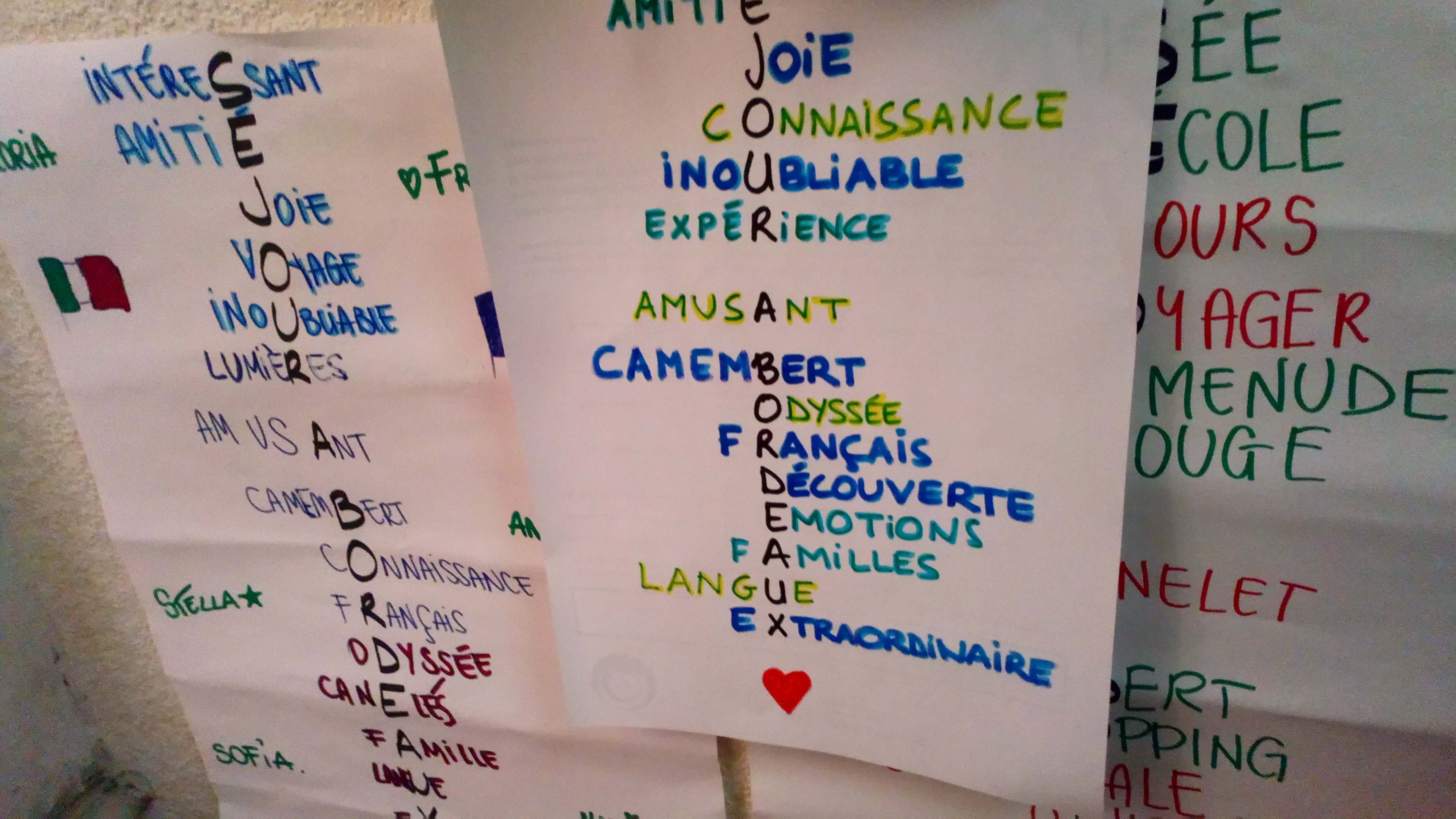 séjour linguistique visite d'étude soggiorno linguisticio francese association odyssée bordeaux france
