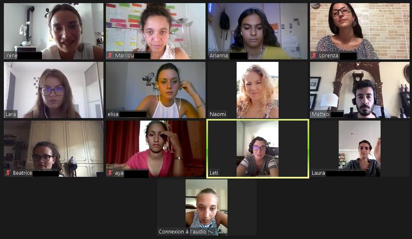 activité interculturelle virtuelle européen europe interculturalité jeunesse bordeaux association odyssée
