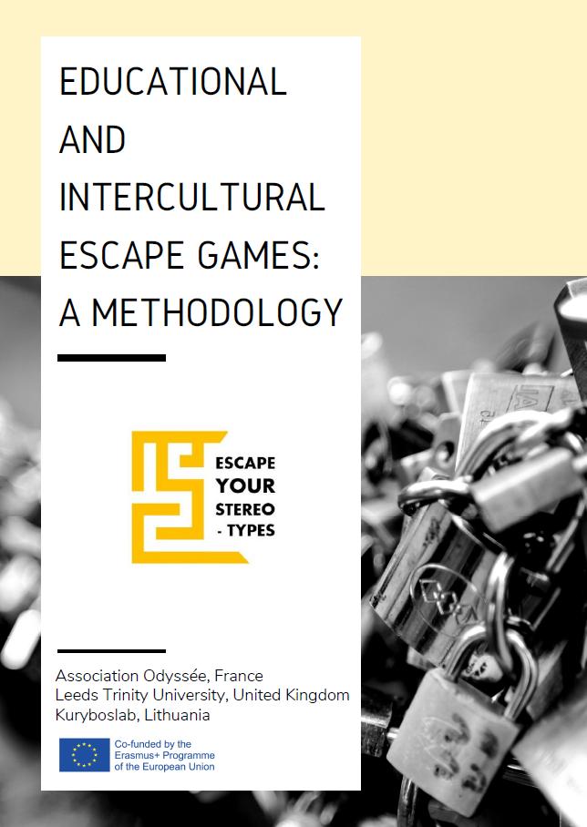 méthodologie escape your stereotypes escape game éducatif pédagogique educational erasmus odyssée association bordeaux