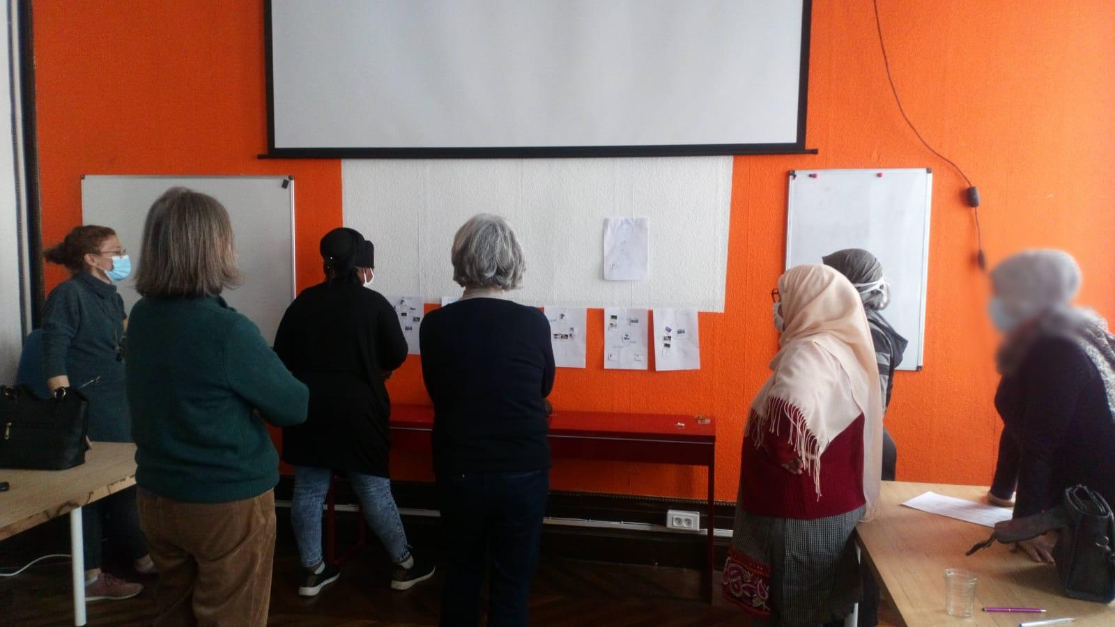 atelier français socioprofessionnel accompagnement femmes réfugié réfugiée bordeaux association odyssée