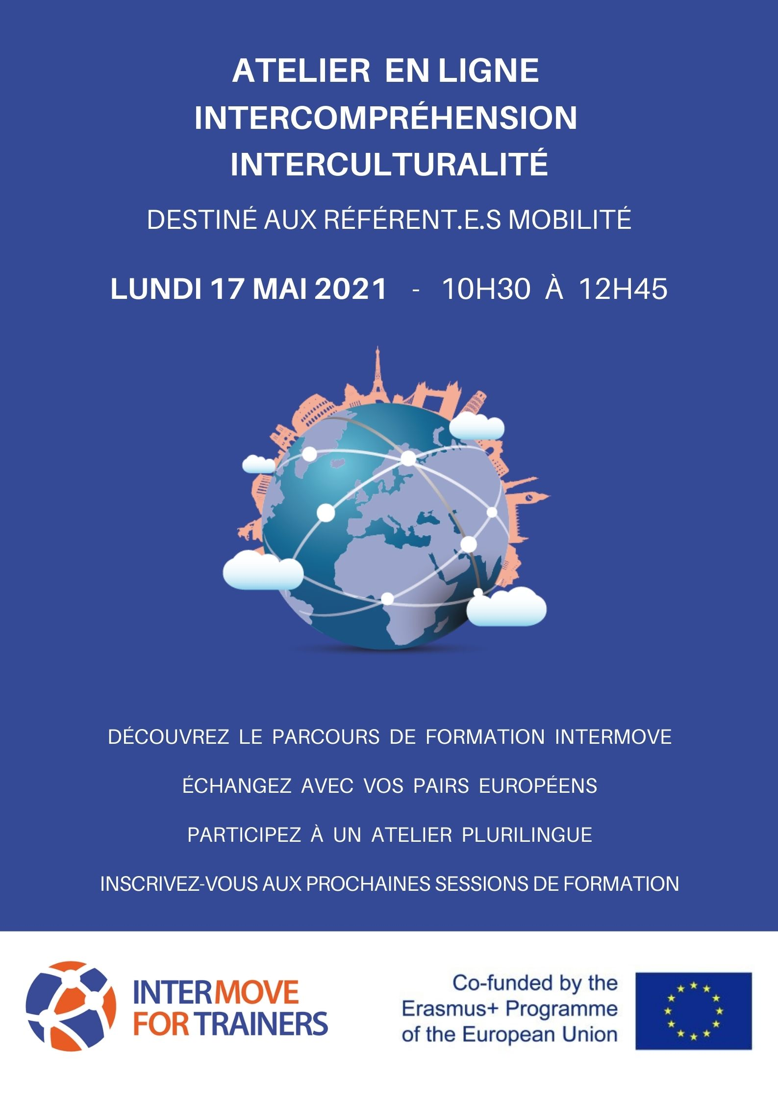 intermove for trainers intercompréhension interculturalité interculturelle interculturel odyssée bordeaux france